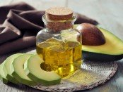 bottle of avocado oil