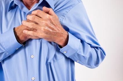cardiac chest pain