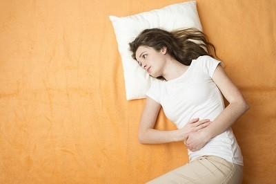 Abdominal pain from diarrhea
