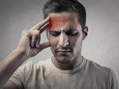 frontal headache forehead