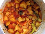 Indian potato (aloo) curry