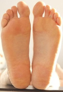 elevated feet