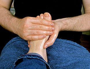 massage foot