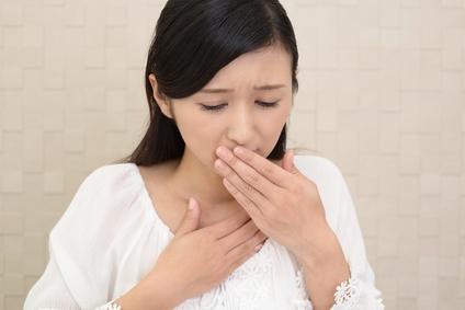 vomiting chest pain